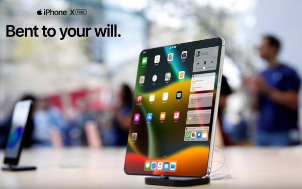 【ついにキター!】待望の折りたたみアイフォン発売!?名はFold