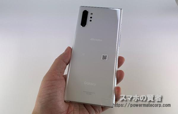 Galaxy Note10+ 背面