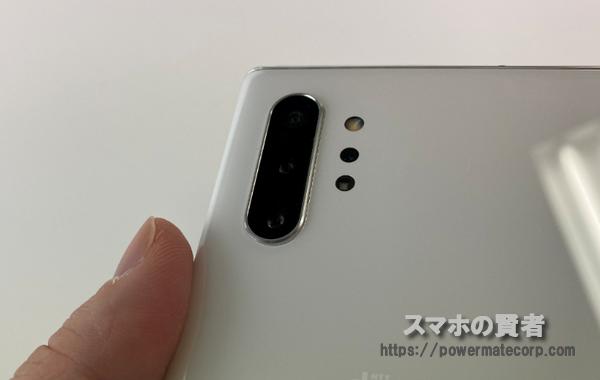 Galaxy Note10+ カメラレンズ