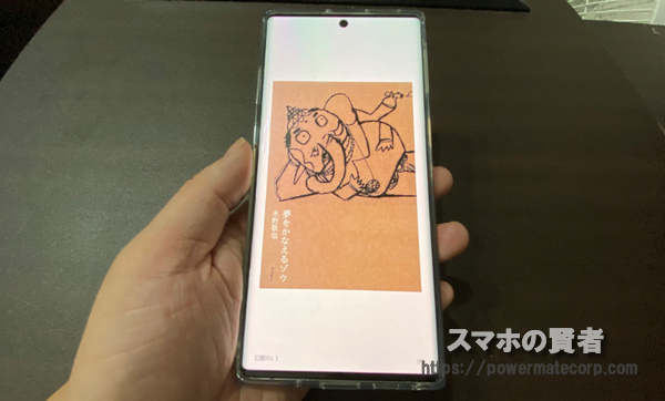 Galaxy Note10+ 電子書籍